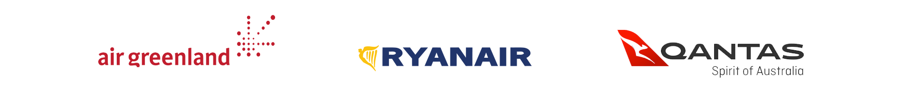 Commercial Partners Air Greenland, Ryanair and Qantas