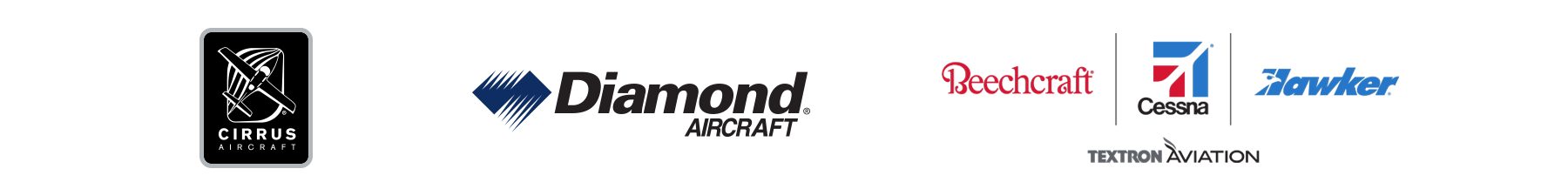 OEM Partners Cirrus Aircraft, Diamond Aircraft and Textron Aviation