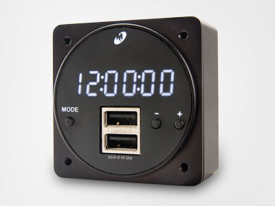 New High Power MD93H Digital Clock/USB Charger