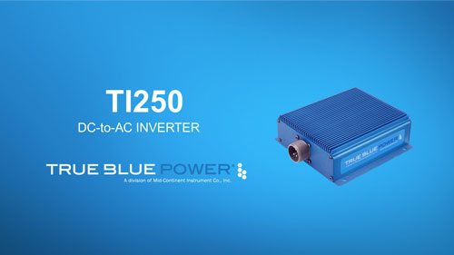 TI250 Series DC-to-AC Inverter