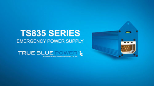 TS835 Series Emergency Power Supply